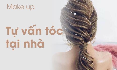 Khoá học Trang điểm tự vấn tóc tại nhà
