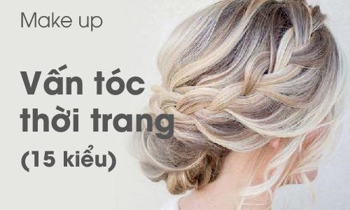 Khoá học Vấn tóc thời trang